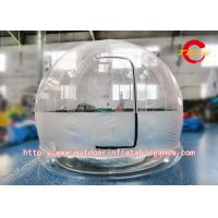 Wholesale Digital Printing Advertising Inflatable Bubble House / Camping Tent With Rooms from china suppliers