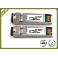 Wholesale 10G SM Duplex port optical transceiver SFP+ compatible Cisco SFP-10G-LR from china suppliers