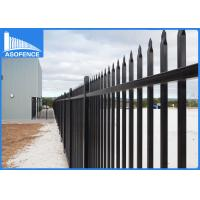 360 Degree Full Welded Steel Panel Fence For Garden High Anti Corrosion