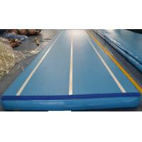 Buy cheap 10m DWF Inflatable Gym Mat , Durable Outdoor Inflatable Air Track from wholesalers