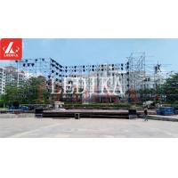 Quality Scaffolding Layer Truss 32 Feet Height Steel For Outdoor Concert Background for sale