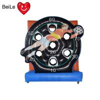 Wholesale Commercial inflatable football goal target soccer shoot darts board game for sale from china suppliers