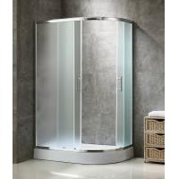 Fabric Glass Shower Enclosure