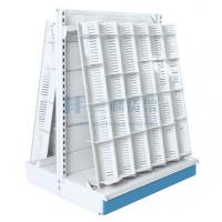 Wholesale Plastic Sprayed Custom Made Cold Rolled Steel Wave Book Shelves Double - Sided from china suppliers