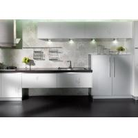 Wholesale Creamy White Plywood Home Kitchen Cabinets Lacquer Painting Canada Style from china suppliers