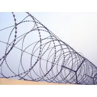 Wholesale Professional High Safety  Roll Barbed Wire Razor Wire For Lawn / Expressway from china suppliers