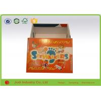 Wholesale Cardboard Shoe Boxes With Lids , 800 Gsm 25 X 28 X 6Cm Custom Packaging Boxes from china suppliers