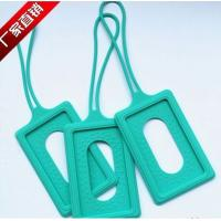 Wholesale silicone luggage tag , silicone luggage p brand ,silicone luggage tag case from china suppliers