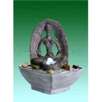 "Quality Yoga 9"" Table Top Water Fountains , Tabletop Indoor Fountains OEM Acceptable for sale"