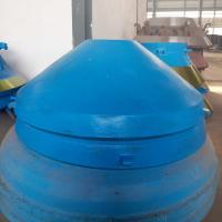 Buy cheap Symons Pegson Series cone crusher spare parts high manganese steel casting cone liner bowl liner concave mantle from wholesalers