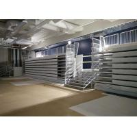 HDPE Retractable Seating System Wall Attached Unit For International College
