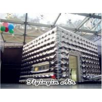 Wholesale Customized Silver Inflatable Cubic Tent for Festival and Holiday Party from china suppliers