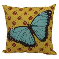 Wholesale Life Print Indoor Outdoor Reversible Throw Pillow With Nice Butterfly Print from china suppliers