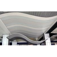 Wholesale Eco Friendly Thermal Insulation Fiberglass Curved Ceiling Panels Acoustic 15mm 24mm from china suppliers
