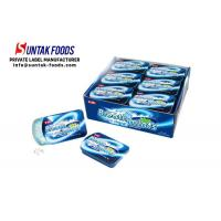Wholesale Peppermint Cool Fresh Sugar Free Lozenges For Throat Slide Tin Box from china suppliers