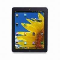 Wholesale Tablet PC with 9.7-inch TFT 260K Color LCD, Dual Camera, Google Android 2.2 OS and 11mm Fuselage from china suppliers