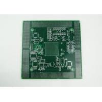 Wholesale 4 layer 2.5MM industrial control FR4 PCB board Immersion Gold , White Silkscreen from china suppliers