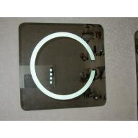 Wholesale Round shape LED lighted mirror with touch switch and lock optionable from china suppliers