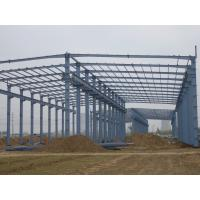 Wholesale Prefab Agricultural Steel Frame Buildings , Long Span Steel Structures With Sandwich Panels from china suppliers