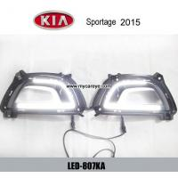 Wholesale KIA Sportage 2015 DRL LED Daytime driving Lights Car front light upgrade from china suppliers