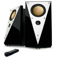 Wholesale High End 2.0 Multimedia Speakers Hi Fi Computer Speaker Electro-Acoustical Design from china suppliers