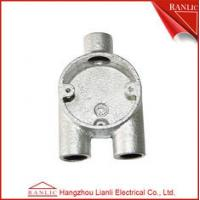 Buy cheap Malleable Iron Conduit Junction Box Y Way Branch 3 Way Junction Box from wholesalers