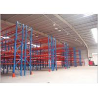 Wholesale Steel Heavy Duty Storage Racks , Warehouse Pallet Racking Systems Muti - Tier from china suppliers