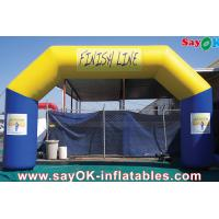Wholesale Outdoor Advertising Inflatable Arch For Events / Outdoor Events Promotion Inflatable Arch from china suppliers