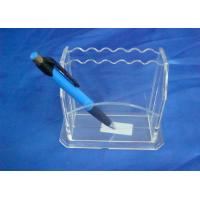 Wholesale Hard Clear 3mm Acrylic Stationery Holder LightweightWith Notes Box from china suppliers