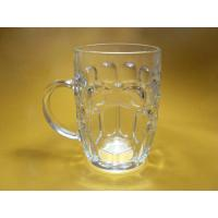 Wholesale Frosty, Engraving, Hot Stamping 650ml bar beer Glass Cup With Handle from china suppliers