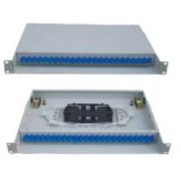 19'' Standard Structure terminal box SC adapter drawer type Fiber Optic Patch panel black color