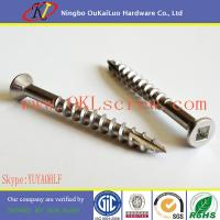 Wholesale Stainless Steel Type 17 Thread Cutting Wood Screws from china suppliers