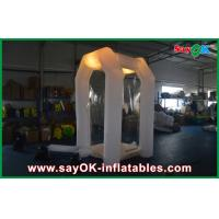 Wholesale Commerical Inflatable Money Booth Safe Oxford Cloth With Led Light from china suppliers