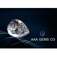 Wholesale Forever Brilliant Colorless Moissanite Pear Anti High Temperature from china suppliers