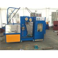 Wholesale 15KW High Speed Wire Drawing Machine , Copper Wire Making Machine With Annealer from china suppliers