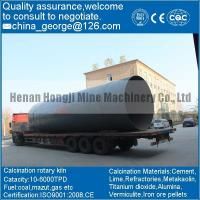low grade iron ore rotary kiln