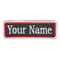 Wholesale Custom Embroidered Name Tag Biker Patch from china suppliers