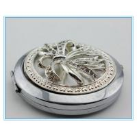 Wholesale High quality hot sale diamond metal pocket mirrors from china suppliers
