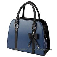 Wholesale Fashion Blue PU Lady handbag for outdoor (MH-6042) from china suppliers