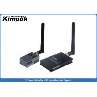 Wholesale 5.8Ghz 600mW Analog Video Transmitter , 9 Channels Wireless CCTV Transmission 800-1000m Range from china suppliers