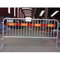 Wholesale Steel Bicycle Crowd Control Barricade Rental event Fence export USA 1100mm x 2500mm CCB design,working shop suppier from china suppliers