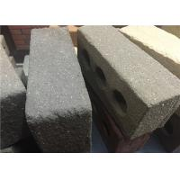 Wholesale Sandblast Face Three Holes Perforated Clay Bricks With Variety Colors from china suppliers