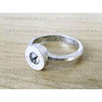 Wholesale JY Fashional Alloy Rhinestone Ring from china suppliers