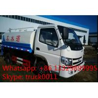 factory sale best price 2017s cheapest water truck, hot sale CLW brand good price 5,000Liters cistern truck