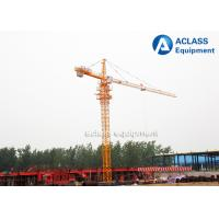 Wholesale 1.0 ton Tip Load 60m Jib Fixed Tower Crane For Overhead Construction Equipment from china suppliers