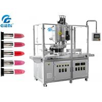 China 10 Nozzles Automatic Silicone Mold Lipstick Making Machine with Heating Tanks on sale
