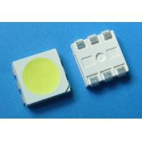 Wholesale 0.2w PLCC6 Top View 5050 White SMD Led 6 pin 60mA 26lm cold white chip led for led strip from china suppliers