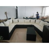 Buy cheap Customize indoor outdoor rattan furniture sofa set of six, rattan lounge chair, deck chair from wholesalers
