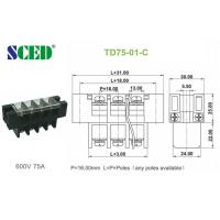 Wholesale Power Distribution Terminal Block Connector 16.00mm Electrical Brass Conduction Board from china suppliers
