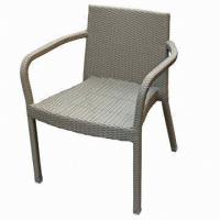 Wholesale Bistro Chair, Made of Aluminum and Rattan Woven, UV-resistant from china suppliers
